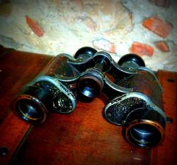 Jumelles anciennes vintage déco