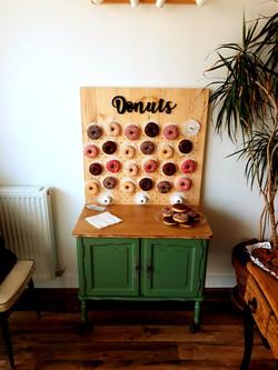 Bar à donuts location mariage fête