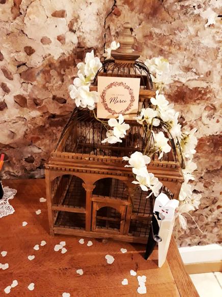 urne cage fleur location  décoration decoration mariage wedding evenement perpignan pyrenees orientales 66 vintage deco de lo