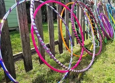 hula hoop cerceaux  jeu extérieur décoration animation mariage perpignan pyrénées orientales