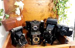 Appareils photos vintage décoration