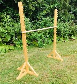Limbo en bois jeu extérieur décoration animation mariage perpignan pyrénées orientales