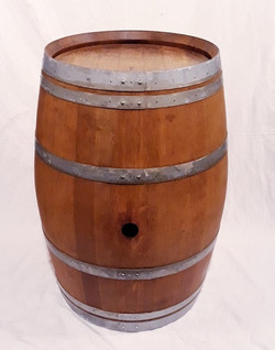 location tonneau bois fut chêne vin décoration mariage évènement perpignan mange-debout