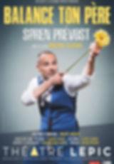 Affiche Soren Prevost Balance ton pere .