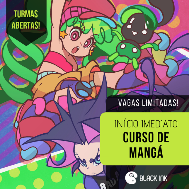 Curso de Mangá - Estúdio Black Ink