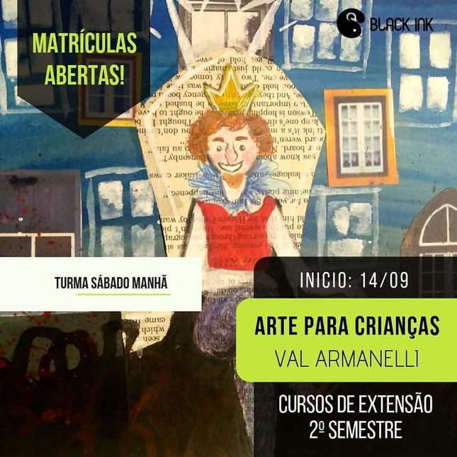 Curso de Arte para Crianças - Val Armanelli