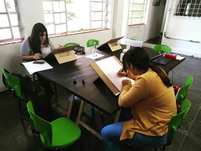 Aula de Desenho Fundamental - Sábado - Régis Luiz