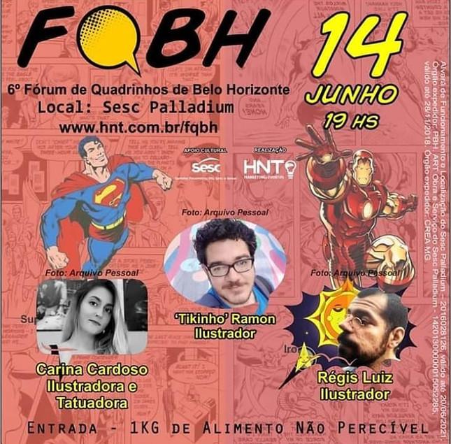 6º Fórum de Quadrinhos de BH - Sesc MG