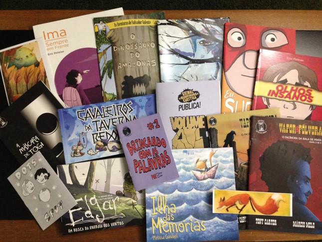 Aquisições da Bienal de Quadrinhos de Curitiba