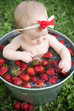 Fruit Bath Session | Phenix City Baby Photography