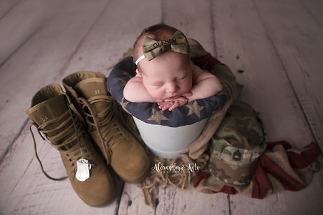 Macie military bucket.jpg
