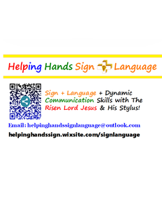 Helping Hands Sign + Language