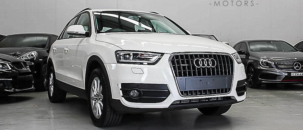 2013 Audi Q3 8U TFSI