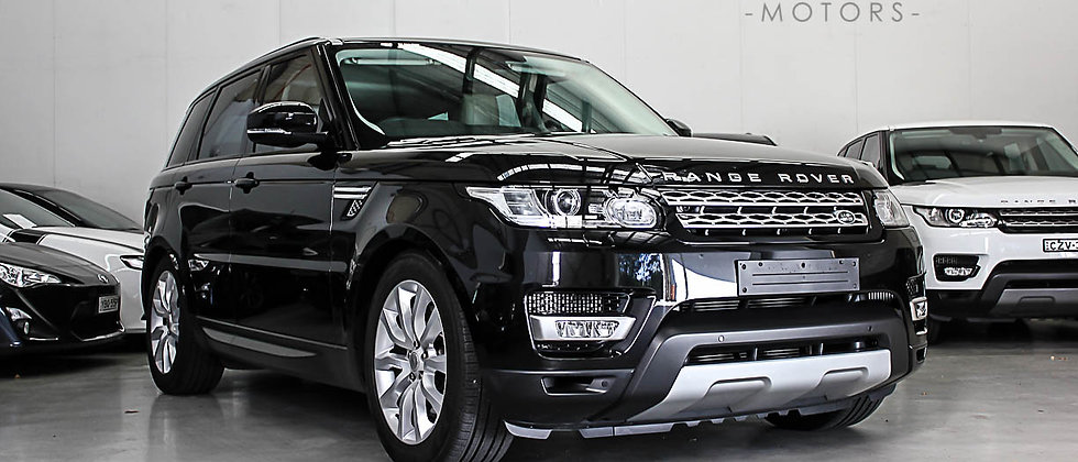 2013 Land Rover Range Rover Sport SDV6 HSE