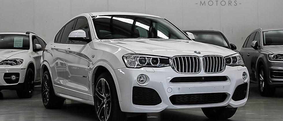 2014 BMW X4 F26 xDrive35i