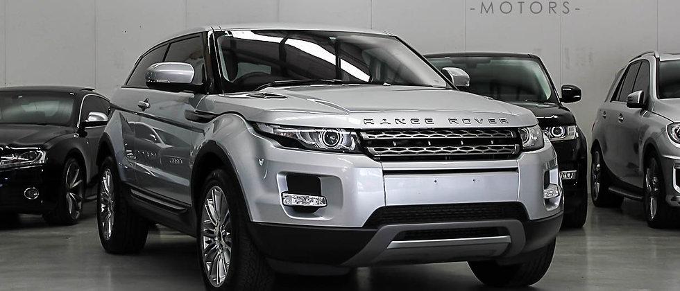 2012 Land Rover Range Rover Evoque L538 SD4 Pure