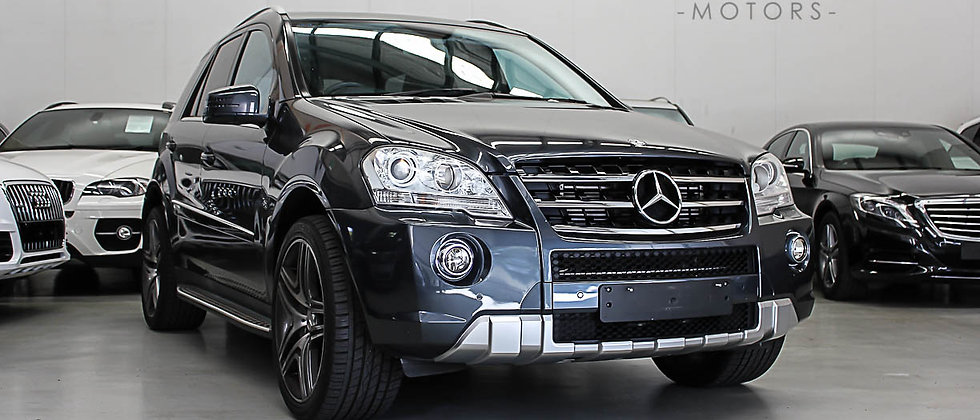 2010 Mercedes-Benz ML350 CDI W166