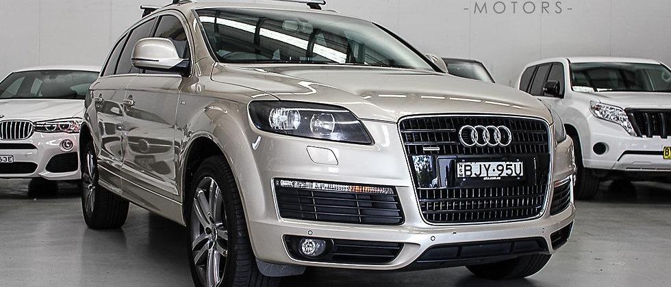 2009 Audi Q7 FSI Wagon