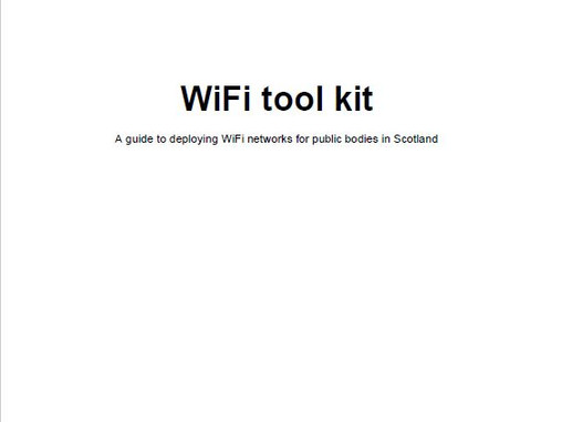 A guide to deploying WiFi networks for public bodies in Scotland