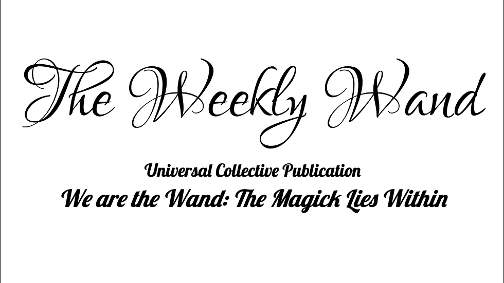 The Weekly Wand -  September 2-15, 2019 Issue