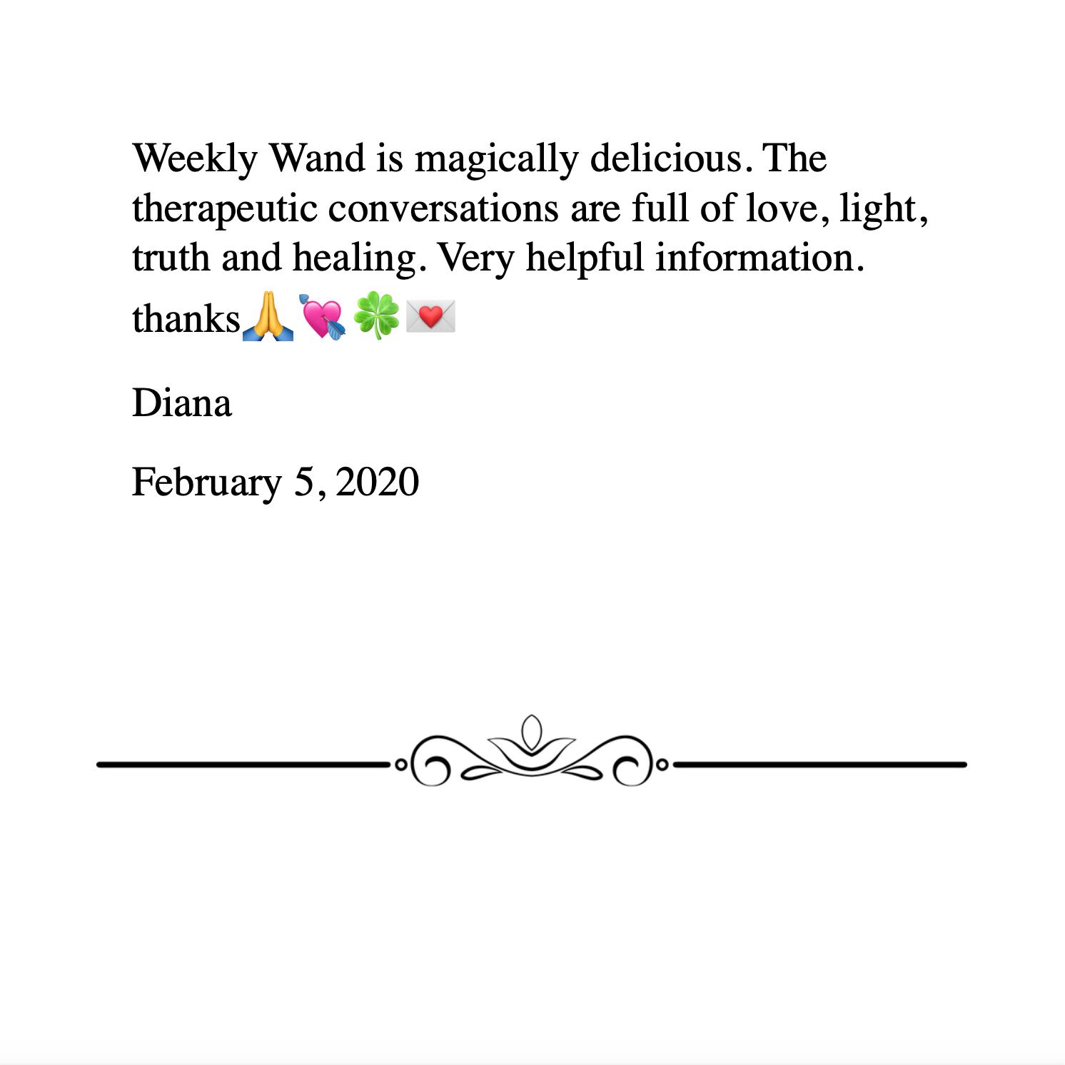 Diana 2.5.2020