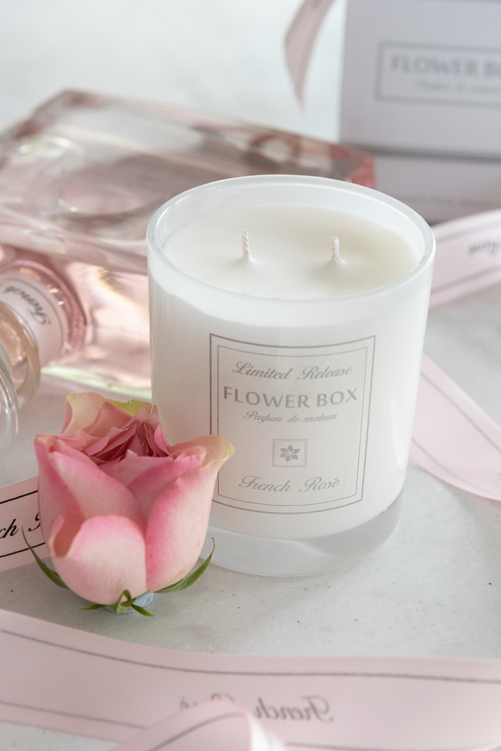 Flower Box Home Fragrance Scented Candle