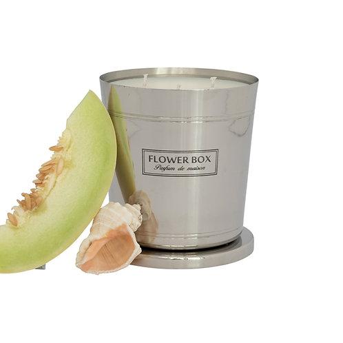 Aqua - 1kg Silver Candle