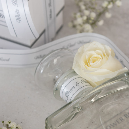 Limited Release Fragrance - White Roses & Oud Wood