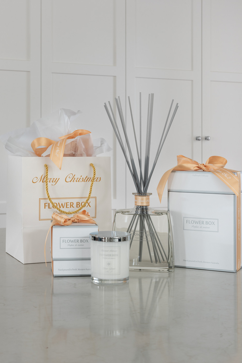 Flower Box Home Fragrance Hallmark Diffuser Scented Candle