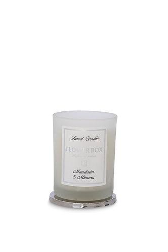 Mandarin & Mimosa - Travel Candle