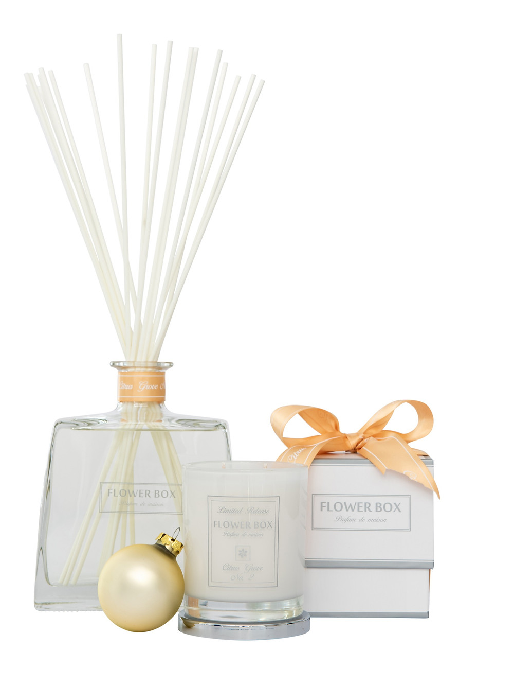 Flower Box Home Fragrance Candle and Diffuser