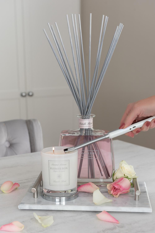 Flower Box Home Fragrance Rechargeable Lighter Arc Lighter Tray