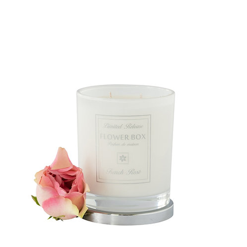 French Rosé - Luminous White Candle