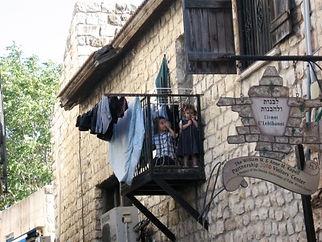 Kids in Tzfat - Private tour Guide