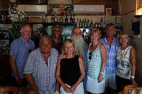 With Uri Buri at the best Fish Resturant