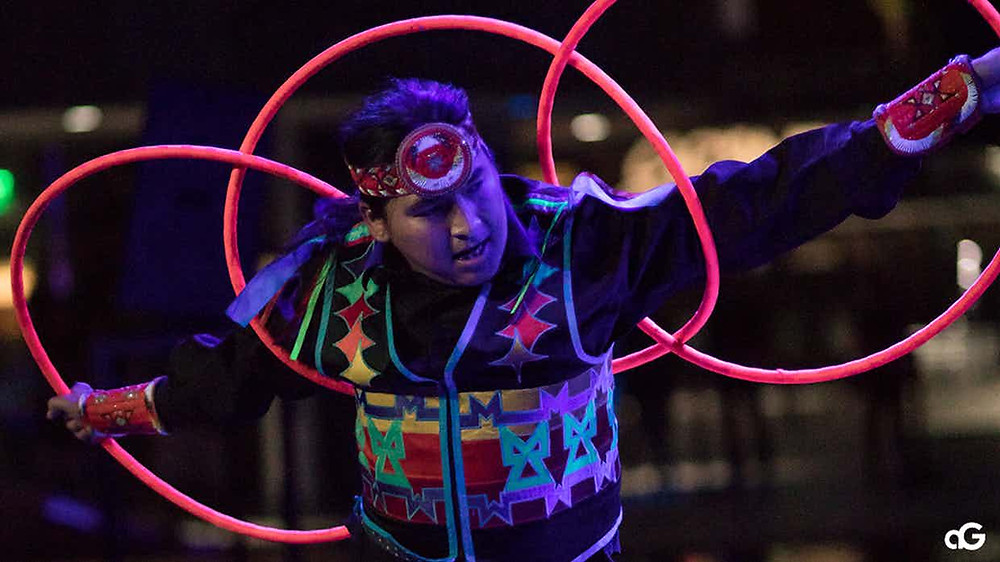hoop dance performance