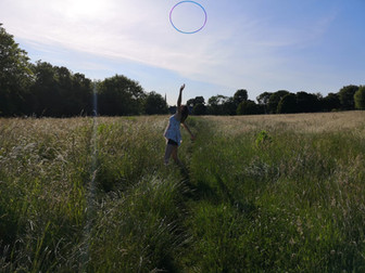 Hoop dance and circles: a series