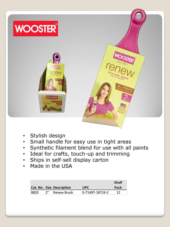Wooster Renew Brush