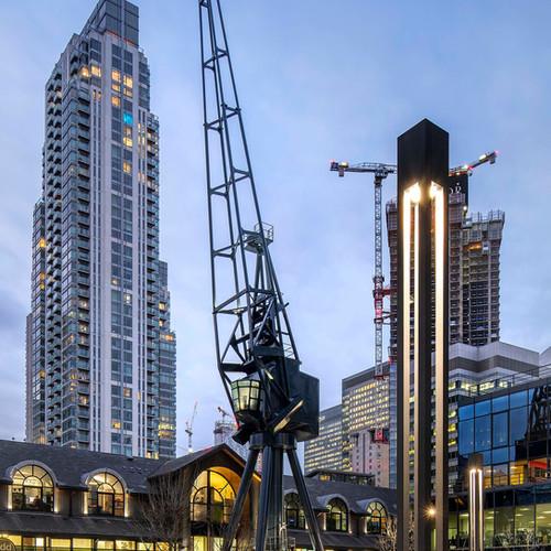 Harbour Exchange Cranes