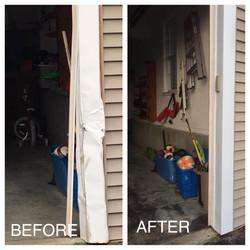 Garage Flashing Fix