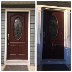 New Front Door Surround