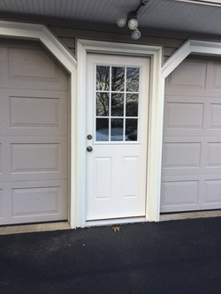 New Garage Entry Door