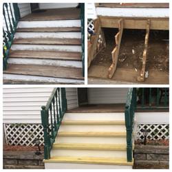 New Steps & Risers