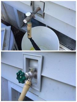 Exterior Faucet Replacement