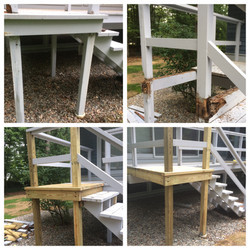 Rotted Deck Fix
