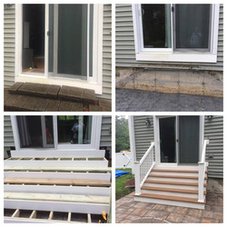 New Patio Stairs