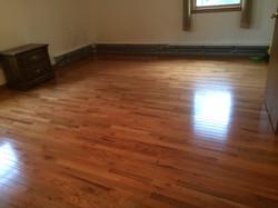 Pre-Finish Hardwood Floor install