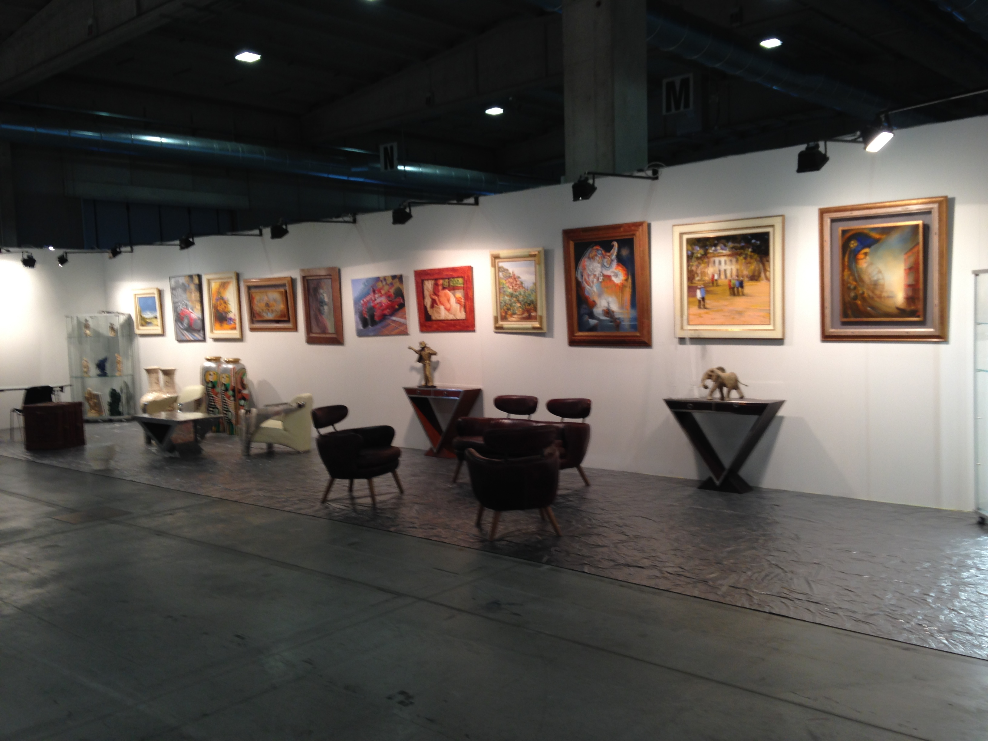 grand panneau  galerie saleya 2