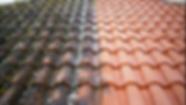 Nettoyage de toiture avant - aprèsyge