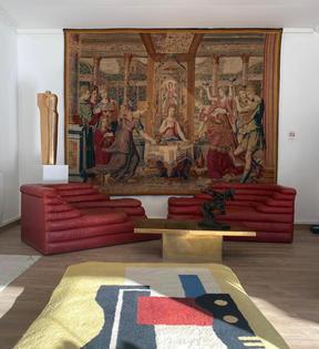 Restauration et nettoyage tapisserie à M